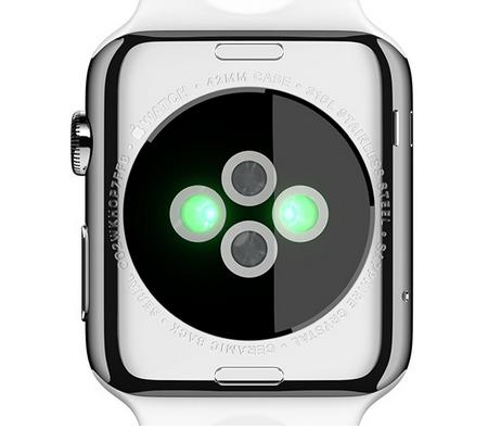 Pulsmåler integreret i Apple Watch