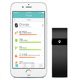 Fitbit Charge tracker