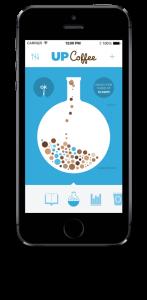 Up Coffee app'en - se hvor meget koffein f.eks. fra kaffe du har i blodet lige nu