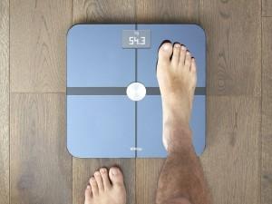Monitorer vægten og vægttabet med Withings WS-50 wifi-badevægt
