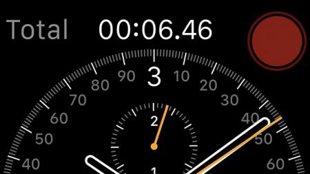 Skærm på Apple watch