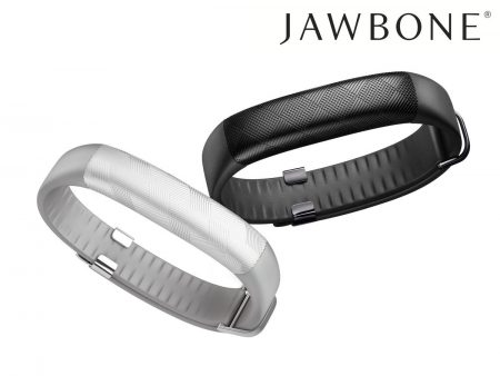 Jawbone Up2 i sort og hvid
