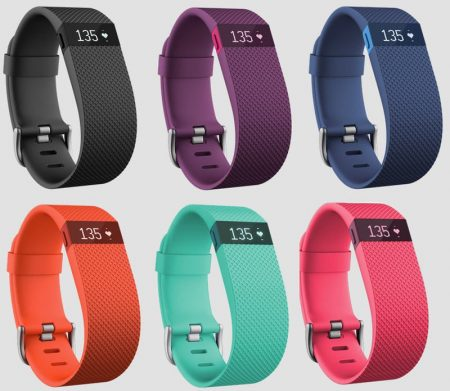 fitbit charge hr farver