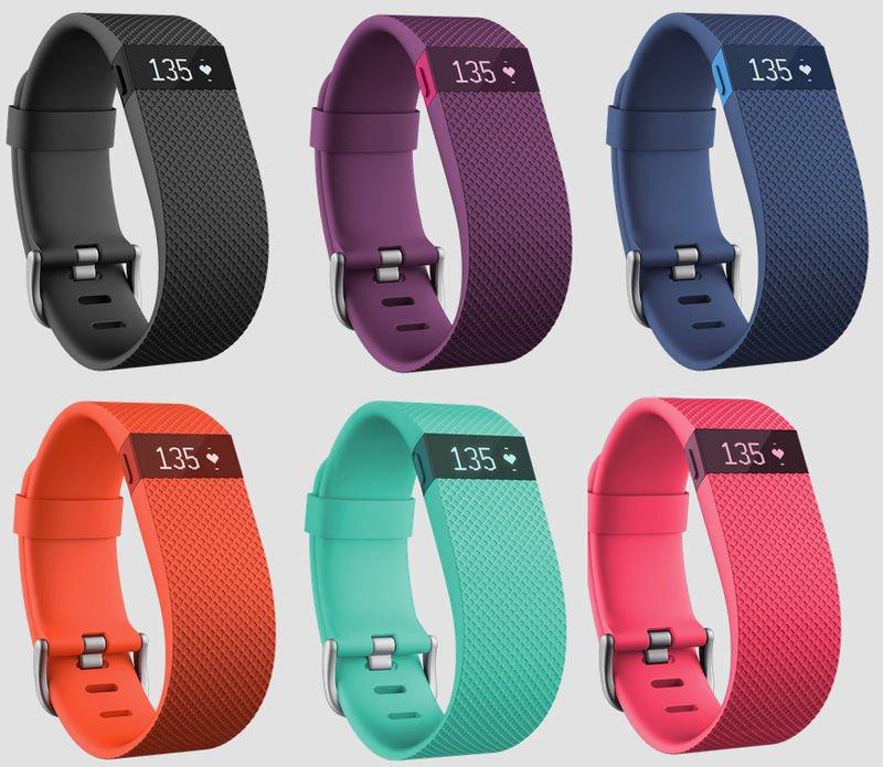 Fitbit Charge HR træningsarmbånd