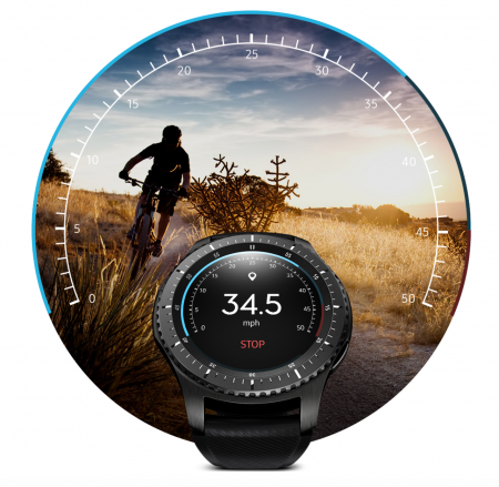 Speedometer i smartwatch