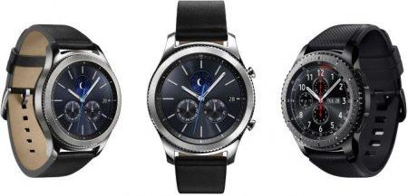 Sammenlign Samsung Gear S3