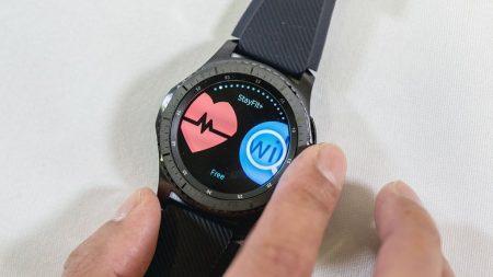 Sundhedsapps til Samsung Gear S3